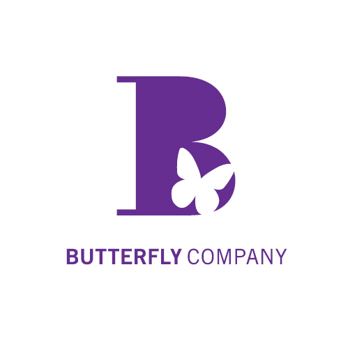 Butterfly Company Mobile Logo