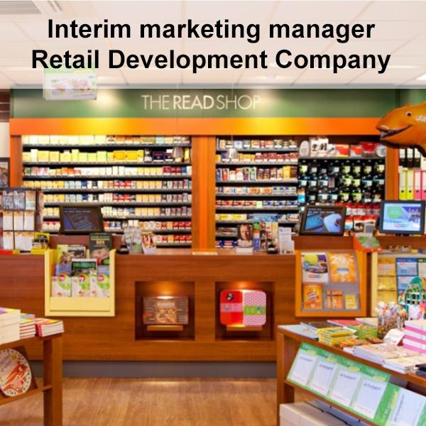 Interim marketing manager